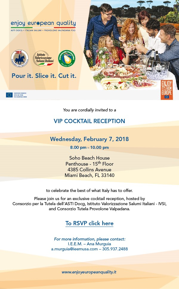 EEQ Cocktail Reception Invitation