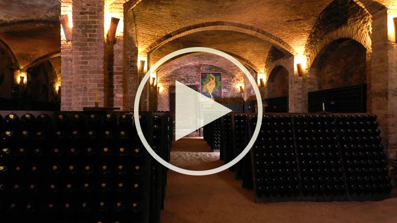 Chef Alessandro Borghese nelle terre dell'ASTI Docg - Le Cattedrali sotterranee di Canelli