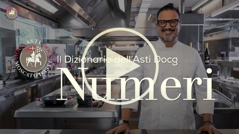 Chef Alessandro Borghese nelle terre dell'ASTI Docg - Numeri