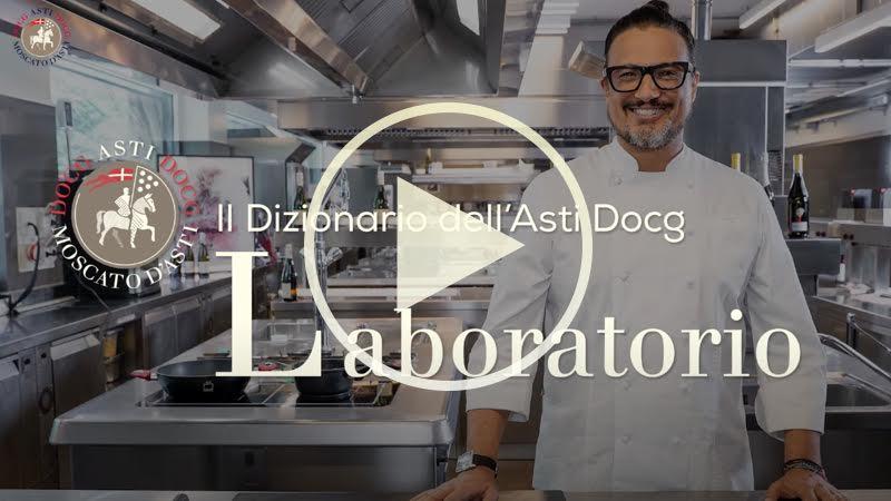 Chef Alessandro Borghese nelle terre dell'ASTI Docg - Laboratorio